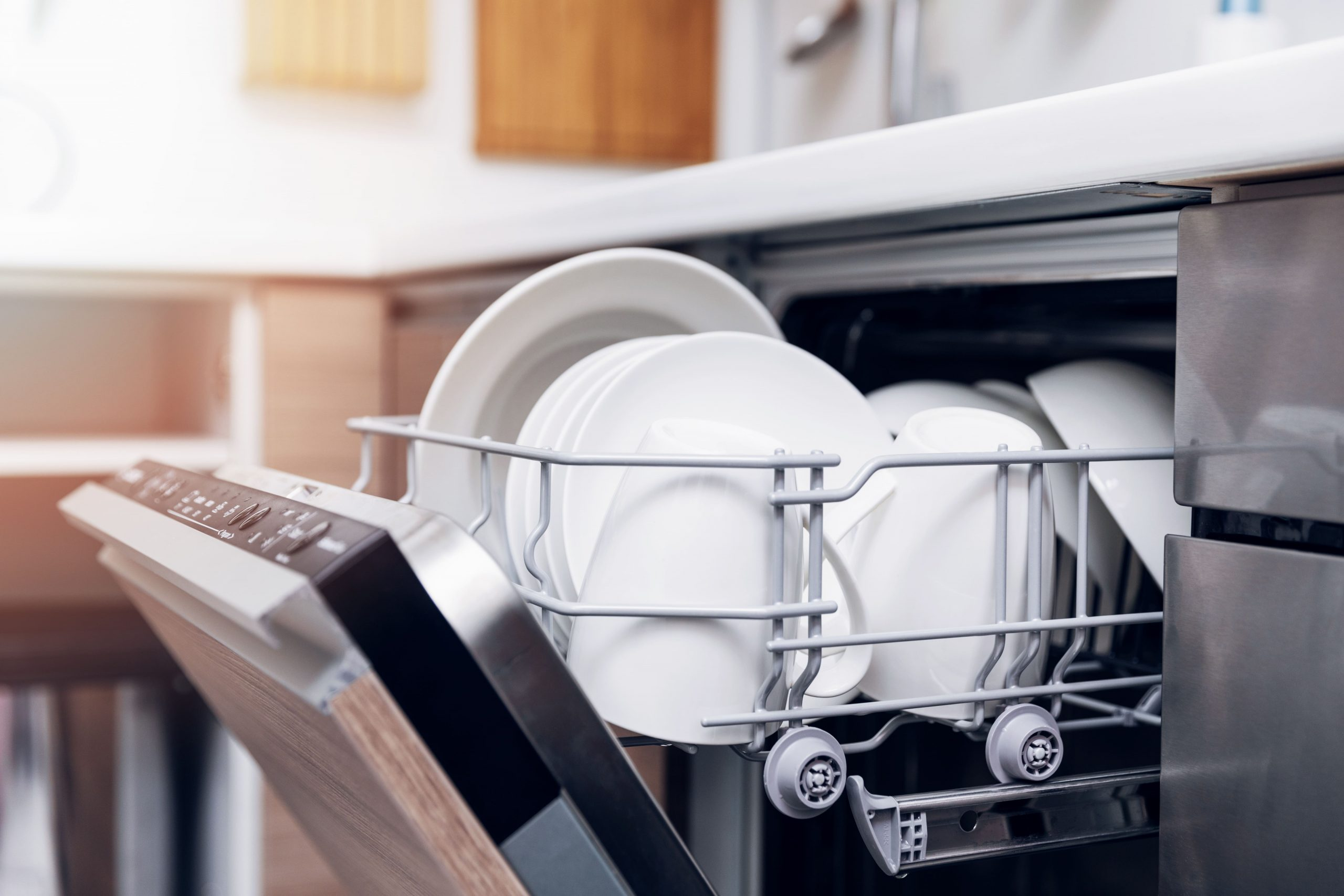 blog image of dishwasher in apartment